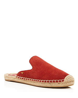 Tory Burch Women's Max Suede Espadrille Slide Sandals