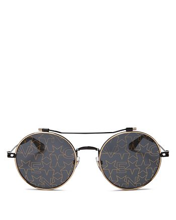 Givenchy - Women's Mirrored Round Sunglasses, 53mm