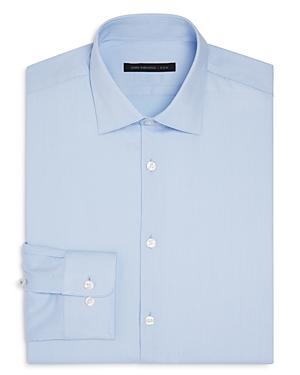 John Varvatos Star Usa Luxe Micro Stripe Slim Fit Stretch Dress Shirt