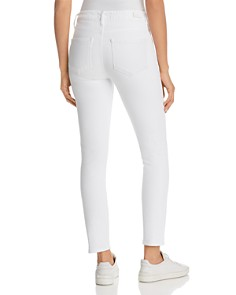 PAIGE - Ankle Skinny Jeans in Crisp White