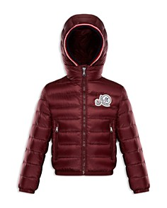 Moncler Boys' Logo Patch Puffer Xavier Jacket - Little Kid - Bloomingdale's_0