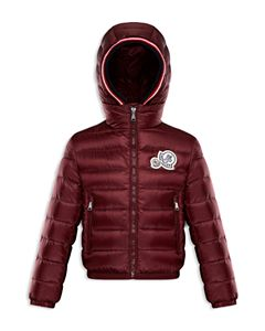 5f8d07932 Moncler Boys' Byron Fur-Trimmed Puffer Jacket - Little Kid ...