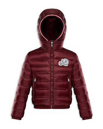 79993615d96a Moncler Boys  Logo Patch Puffer Xavier Jacket - Big Kid