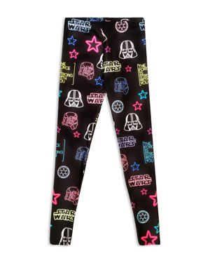 Terez Girls' Star Wars Neon Leggings - Little Kid