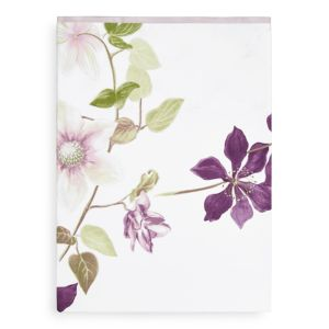 Yves Delorme Clematis Flat Sheet, Queen