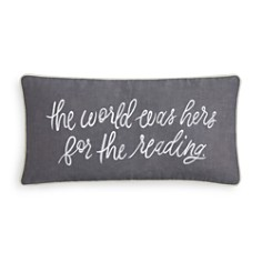 """kate spade new york Was Hers for the Reading Decorative Pillow, 10"""" x 20"""" - Bloomingdale's_0"""