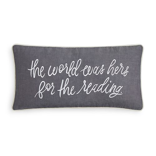 Kate Spade New York Was Hers For The Reading Decorative Pillow 40 Enchanting Cheap Decorative Pillows Under 10