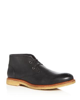 THE MEN'S STORE AT BLOOMINGDALE'S The Men'S Store At Bloomingdale'S Leather Chukka Boots - 100% Exclusive in Black