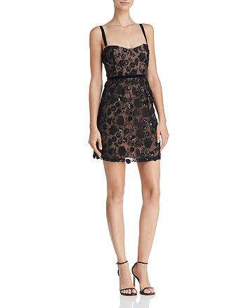 7d345de2ece6 For Love & Lemons Beatrice Embellished Mini Dress | Bloomingdale's