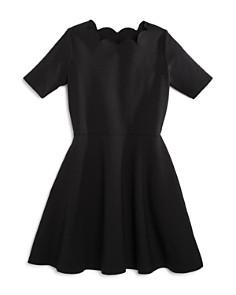 AQUA Girls' Scalloped Dress, Big Kid - 100% Exclusive - Bloomingdale's_0