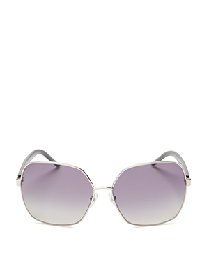 Marc Jacobs Marc 65/S Polarized Square Aviator Sunglasses, 60mm