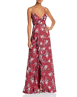Fame and Partners The Hedy Maxi Wrap Dress - 100% Exclusive