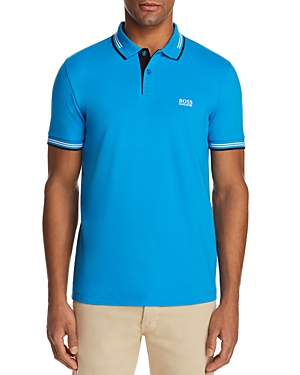 Boss Green Paul Tipped Short Sleeve Polo Shirt