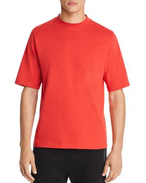 Helmut Lang Military Mock Neck Short Sleeve Tee