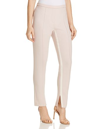 Elie Tahari - Marcia Ribbon Inseam Ankle Pants