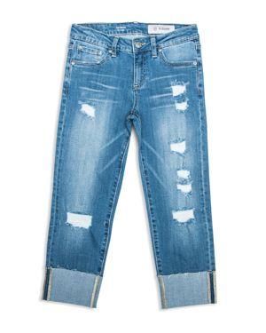 ag Adriano Goldschmied Kids Girls' Distressed & Cuffed Grl Pwr Jeans - Big Kid 2792850