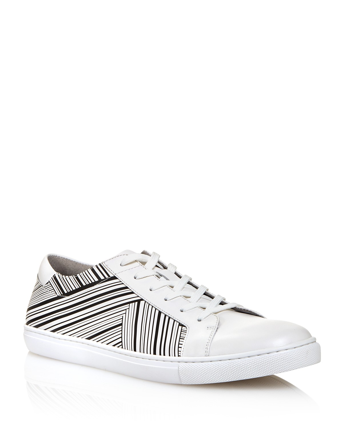 Kenneth Cole Men's Kam Stripes Low Top Sneakers - 100% Exclusive AwF1O