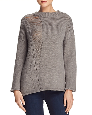 French Connection Isabel Shred-Detail Sweater