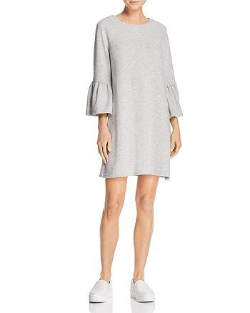 FRENCH CONNECTION - Paros Bell-Sleeve Knit Dress