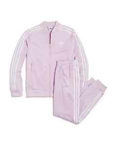Adidas Girls' Track Jacket & Pants - Big Kid - Bloomingdale's_0