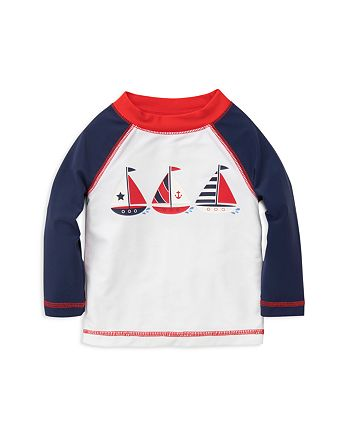 Little Me - Boys' Sailboat Rash Guard - Baby