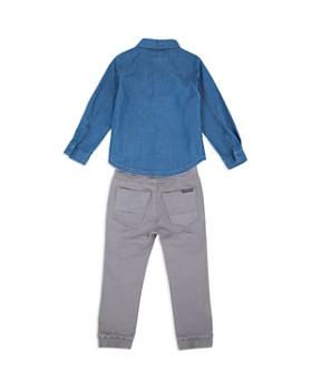 Hudson - Boys' Denim Button-Down & Jogger Pants Set - Baby