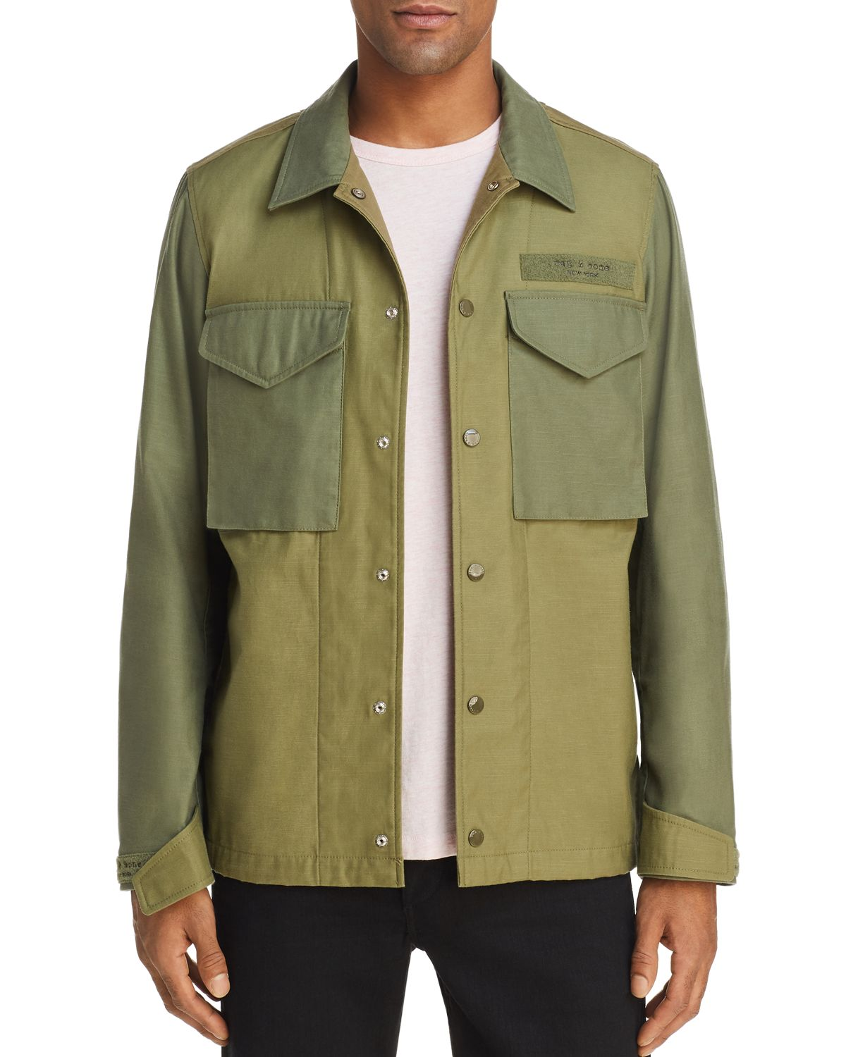 Flight Shirt Jacket   100 Percents Exclusive by Rag & Bone