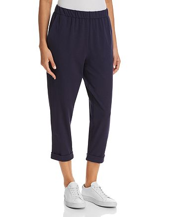 Eileen Fisher Petites - Cropped Slouchy Pants