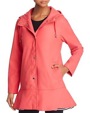 kate spade new york Peplum Raincoat