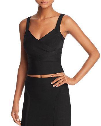 01c06abf70e GUESS Mirage Cropped Top | Bloomingdale's