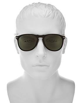 Persol - Men's Polarized Icons Collection Evolution Pilot Sunglasses, 55mm