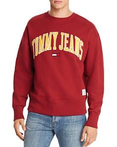 Tommy Hilfiger Tommy Jeans Collegiate Crewneck Sweatshirt - Bloomingdale's_0
