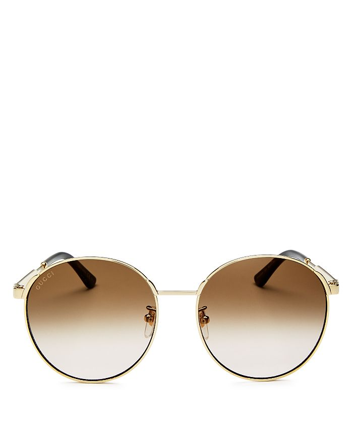 6149c29fa3e6 Gucci Women's Round Sunglasses, 58mm | Bloomingdale's