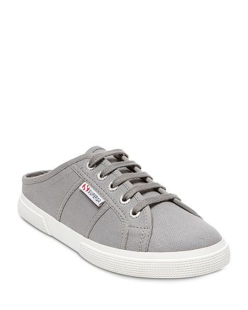 Superga - Women's Classic Lace Up Sneaker Mules