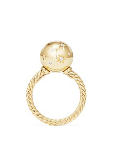David Yurman - Solari Ring with Diamonds in 18K Gold