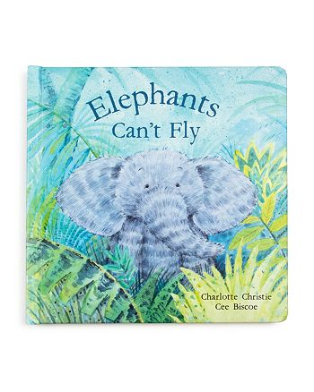 Jellycat - Elephants Can't Fly Book - Ages 0+