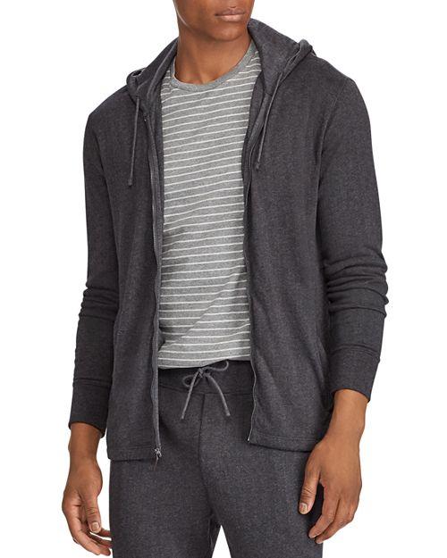 Polo Ralph Lauren - Herringbone Double-Knit Zip Hooded Sweatshirt