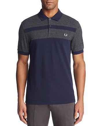 Fred Perry - Stripe Piqué Short Sleeve Polo Shirt