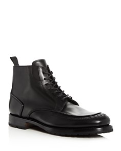 Canali Men's Leather Apron Toe Boots - Bloomingdale's_0