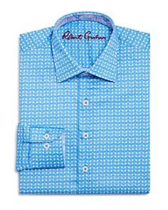 Robert Graham Boys' Printed Check Dress Shirt - Big Kid - Bloomingdale's_0
