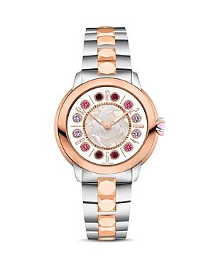 Fendi IShine Rotating Gemstones Two-Tone Watch, 33mm at Bloomingdale's
