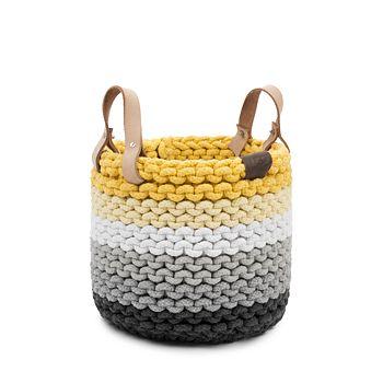 UGG® - Rainbow Rope Nesting Basket, Medium
