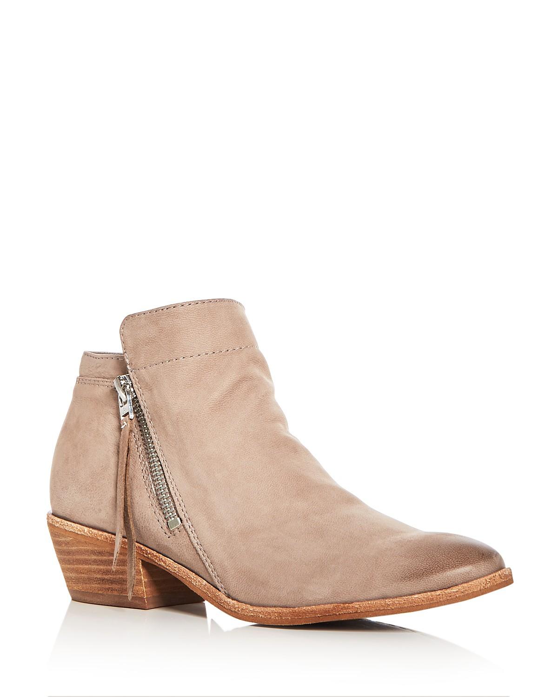 Sam Edelman Women's Packer Leather Low Heel Booties RTBPlrUt8v