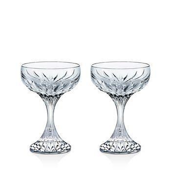 Baccarat - Massena Champagne Coupe, Set of 2