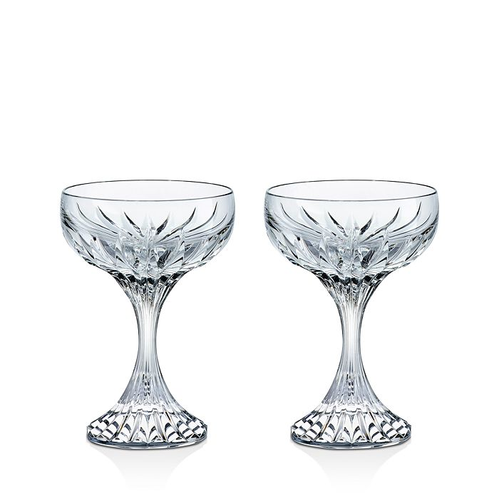 Baccarat - Massena Champagne Coupe, Set of 2