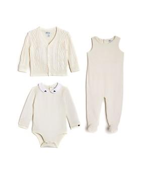 Ralph Lauren - Boys' Bodysuit, Overalls & Cardigan Set - Baby