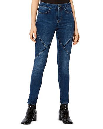 KAREN MILLEN - Seam-Detail Skinny Jeans