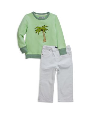 Sovereign Code Boys' Palm Tree Sweatshirt & Jeans Set - Baby 2800126