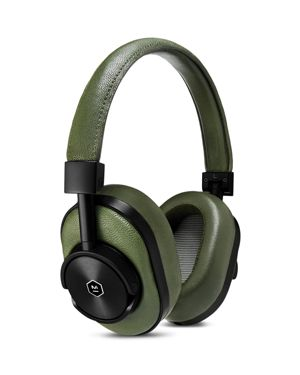 Mw60 Wireless Over-Ear Headphones, No Color, Olive