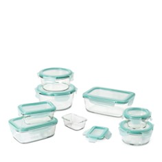 OXO - 16-Piece Smart Seal Glass Container Set